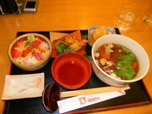 sushi bowl. shoot, sushi everywhere.