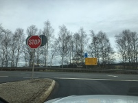 Stop is still stop.