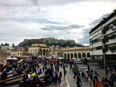 really enjoyed being in Monastiraki. Acropolis is always overhead
