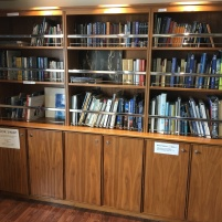 Library in the lounge
